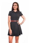 чёрное платье для выпускниц