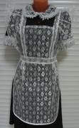 Платье с фартуком для школы