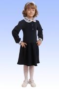 Чёрное платье для начальной школы