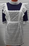 Купить синее школьное платье в Новосибирске