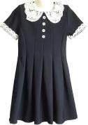 синее школьное платье размер 32 34 36 38