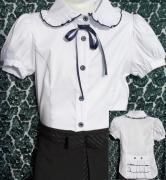 купить белую рубашку дляшколы