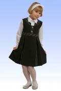 купить серый сарафан для девочки в Новосибирске