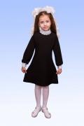 купить школьное платье стоечка воротник