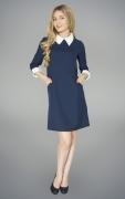 купить синее платье для школьной формы в Новосибирске