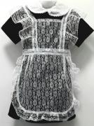 школьную форму платье купить с коротким рукавом