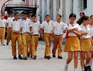 Форма кубинских старшеклассников.